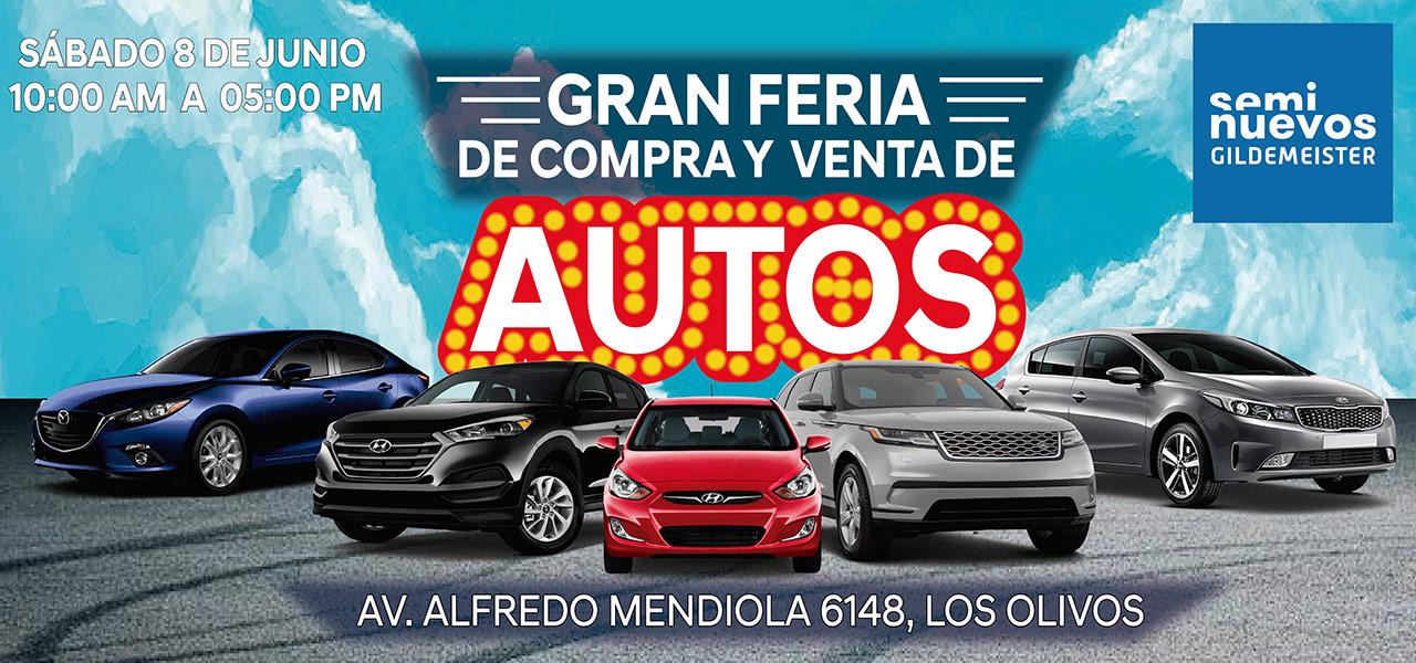 Venta De Autos >> Gran Feria De Compra Y Venta De Autos De Seminuevos